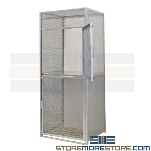 Locking Tenant Cage Storage Condo Buildings Apartment Residents Bulk Storage
