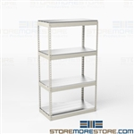 Wide Span Storage Shelving