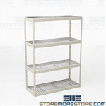 Backroom Storage Racks Steel Shelves Shelving