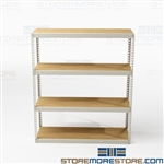 Rivet Racks Wide Span Bulk Storage Shelving