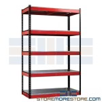 make your workshop a place for inspiration, tool workbench, Fort Knox bold red and black makes a statement, workbench designs, garage workbench system
