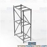 Metal Racking, industrial Bulk Racks, Hand Loaded pallet racks, Heavy-duty, Warehouse, High Capacity, Welded Frame, Welded Upright Frames, Steel, Free Shipping, Commercial Storage Racks, Material Handling, Adjustable