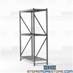 Boltless Wide Span Storage Racks for Industrial Warehouses Heavy-Duty Hallowell