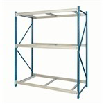 Boltless Wide Span Bulk Rack Storage Shelving Industrial Extra Wide Racks Hallowell