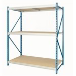 Steel Racks for Bulk Storage Boxes Cartons Large Products Free Shipping 6' Shelves