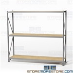 Bulk Shelving with Welded Uprights Free Shipping Wide Storage Shelving