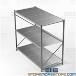 Bulk Racks with Welded Upright Frames Storage Shelving 8' Beams Free Shipping