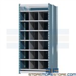 steel pigeon hole compartment shelving ideal for storing and organizing long goods Hallowell pigeon hole lumber racks are designed with a heavy duty capacity to store long items lumber goods and equipment made with all steel construction for durability