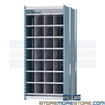 metal long compartment bins ideal for storing long goods pipe plc. bar trim and rebar Hallowell pigeon hole storage racks are engineered to organize and store long goods while remaining economical and affordable ideal for organizing machine and workshops