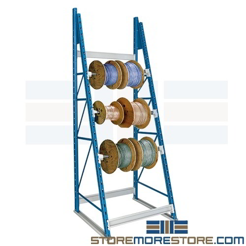 Beautiful Wire Spool Rack Dispenser Designed To Hold Spools For Cable, Rope, Chain,  Wire