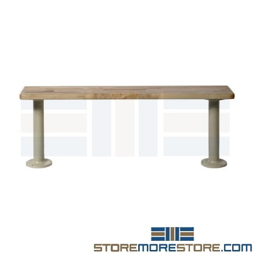 Phenomenal Fitting Room Benches 8W X 9 5D X 1 25H Sms 39 Mbt96 Customarchery Wood Chair Design Ideas Customarcherynet
