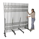Accordion Security Gate Portable Expanding, Hallowell Superior pressure fit gates, Hallway security barrier gates, collapsible,