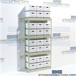 File Box Storage Shelves Hallowell RS421584-4SP