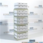 Archive Box Storage Shelving Hallowell RS4230108-5SP