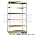 steel shelving similar to WPSS z-line Edsal Western Pacific Tennesco Rivetier Boltless shelves