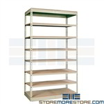 boltless shelves Hallowell similar to WPSS Sandusky Edsal Tennesco Penco Western Pacific shelves