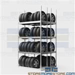 Tall Tire Racks