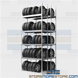 Freestanding Tire Racks