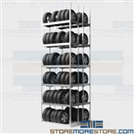 Car Tire Rack