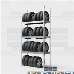 Wall Tire Rack