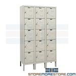 Staff Lockers Hallowell U3226-5PT
