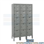 Mini Storage Lockers Hallowell U3256-5PT