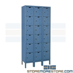 Cubby Lockers Hallowell U3288-6PT