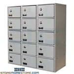 Hallowell cabinet UCTL392(30)-5A-K-PL Cell Phone Cabinets and Cell Phone Storage Box are Cell Phone Locker Charger and can be used as IPad Lockers made by Hallowell Cell Phone Cabinet