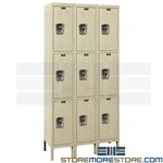 Fully Assembled Lockers