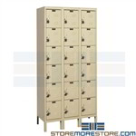 Box Lockers That Ship Assembled