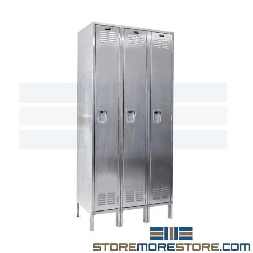 four elite locker of nest door doors open