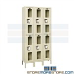 Transparent Door Storage Lockers