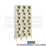 Glass Door Storage Lockers