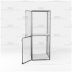 Employee Gear Lockers Wire Mesh Storage Cabinet Ventilated Industrial-Duty Tools
