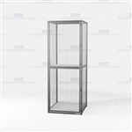 Bulk Storage Lockers Wire Mesh Cabinets Gear Bags Tools Uniforms Personal Items