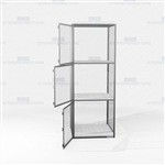 Gear Storage Lockers Wire Mesh Compartment Cabinet Cubbies Ventilated Locking