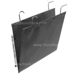 Oblique CLGY V-Base Long Letter Size Hanging File Folder Compartments that hang from rods on shelving units