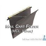 Oblique MCL Mail Cart hanging Compartments are designed to keep mail carts organized
