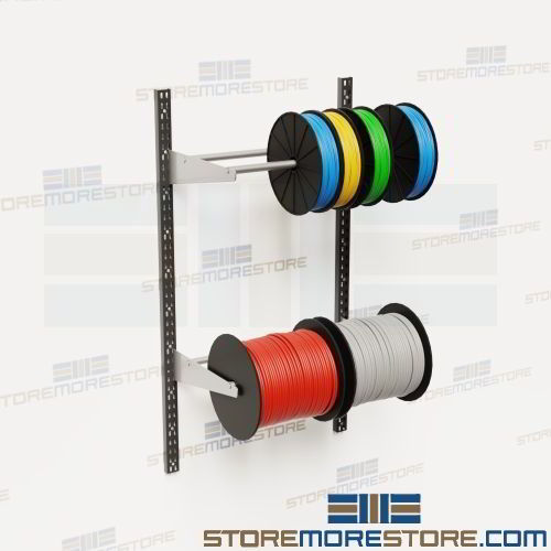 Wire Spool Rack Wall Mounted Cable