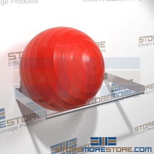 Stability Ball Wall Rack: Exercise Ball Rack Storing Large Stability Physio-Balls