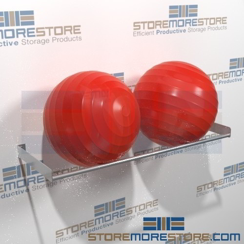 Stability Ball Wall Rack: Large Stability Ball Storage Racks