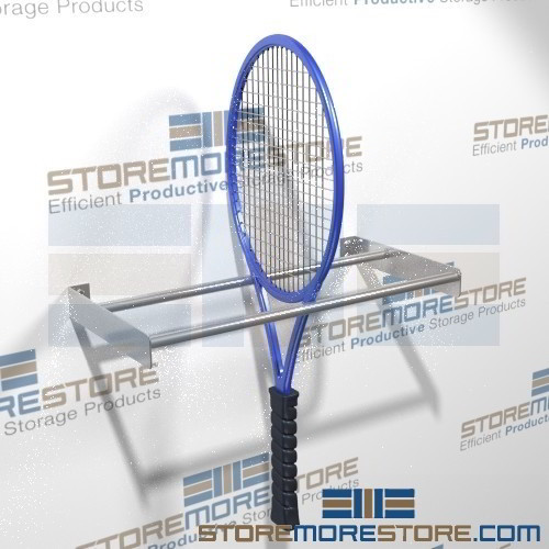 Tennis Racquet Wall Racks Storage Hanging Rackets Wall