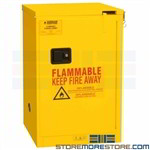 4 gallon safety cabinet, paint chemical storage, flammable material storage, osha certified rack, durham, 1004s-50