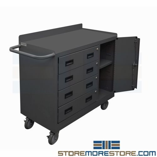 Fine Mobile Drawer Workbench Cart 3W X 1 6D X 3 2 3 8H Sms 43 2211A Lu 95 Gmtry Best Dining Table And Chair Ideas Images Gmtryco
