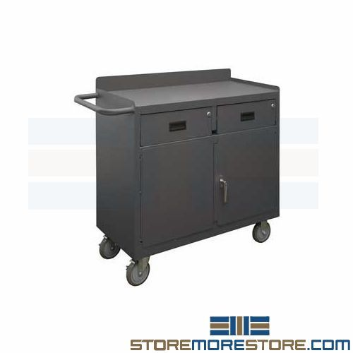 Rolling Shop Cabinet (3'W x 1' 6