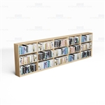 Wall Bookcases Laminate Row 15 Ft Ships Unassembled Book Storage Shelving Units