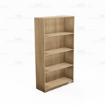 "Laminate Bookcases Freestanding Wall Book Shelves 12"" Deep Office Storage Units"