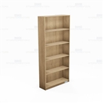 Laminate Library Storage Shelving Wall Bookcases Single-Faced Freestanding Racks