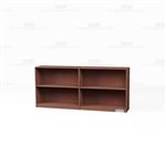 Wood Bookcase Shelving Row 6'
