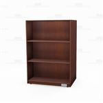 "Rolling Wood Veneer Bookshelves on Wheels Library 24"" Deep Double-Sided Units"